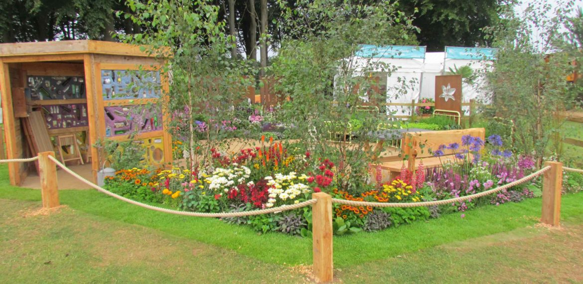 Charities, Silver Gilt medals and 5 garden design Tips!