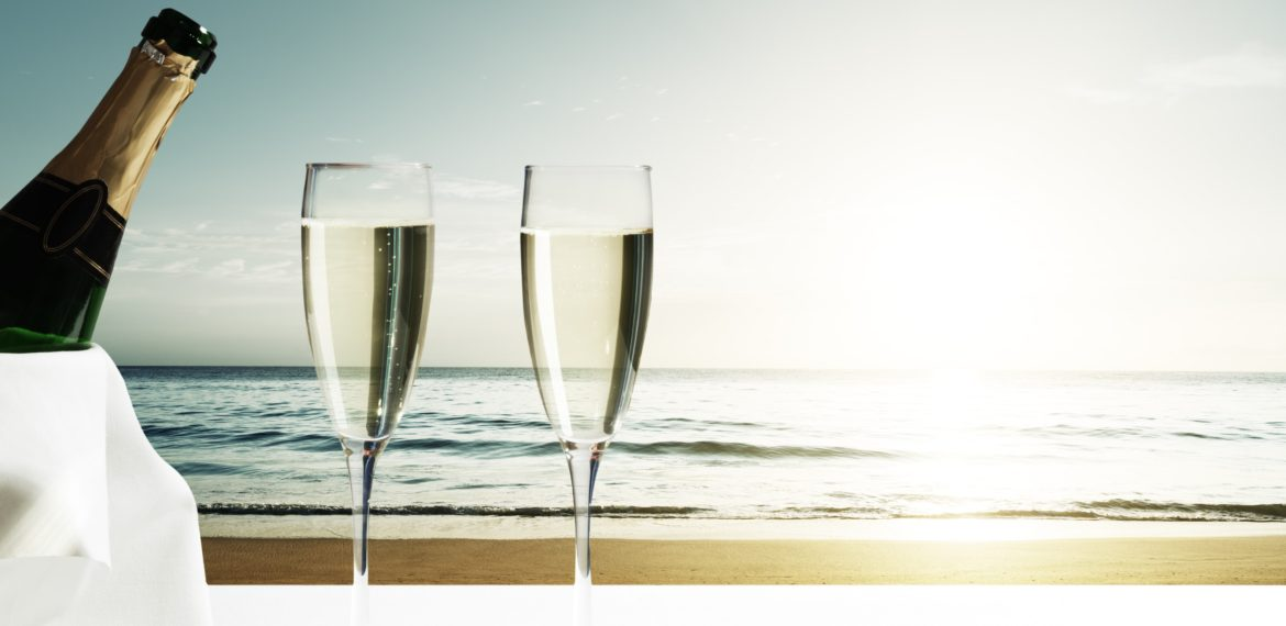 A holiday and champagne ? Yes please !