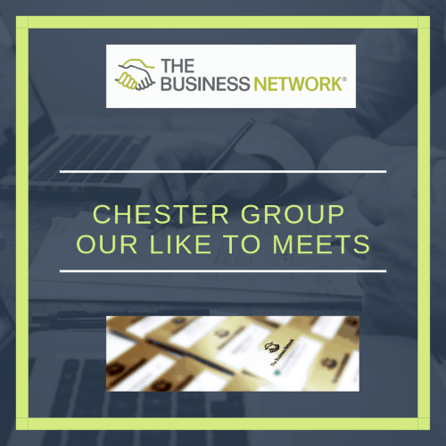 The Business Network Chester – Like to meets!