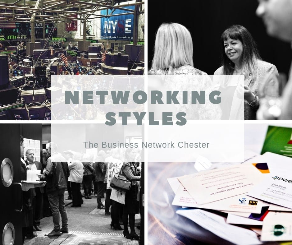 Networking styles shown at Business Network Chester