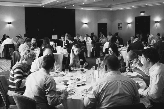 Table Networking at our lunch time events