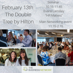 The Business Network Chester February 13th event 2020