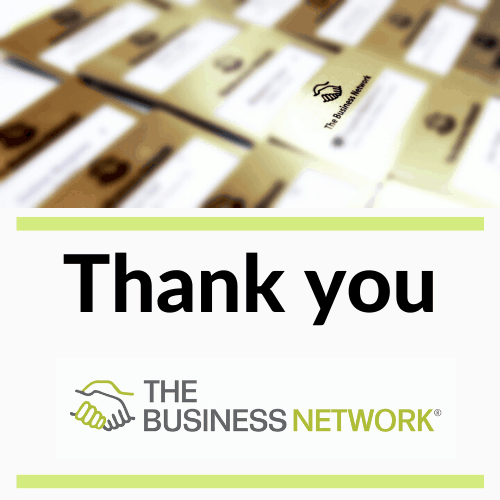 The Business Network Chester says Thank you